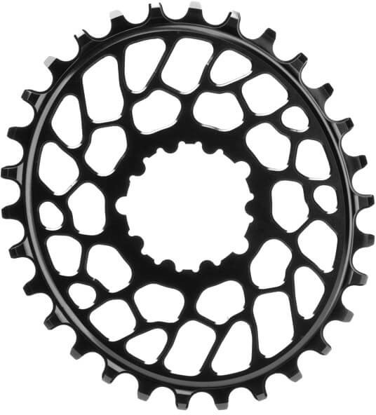 Absolute Black Sram Direct Mount Oval Chainring 32t Black