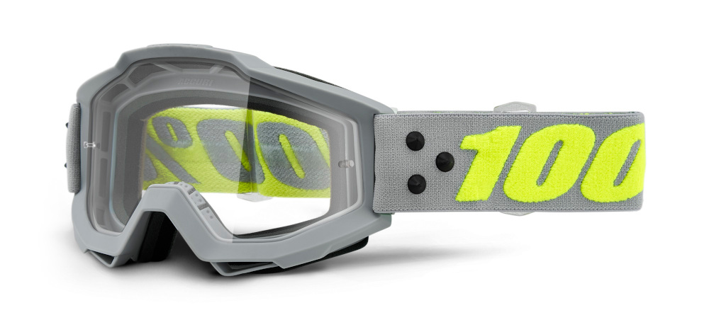 100 Percent Accuri Goggles Berlin/clear Lens