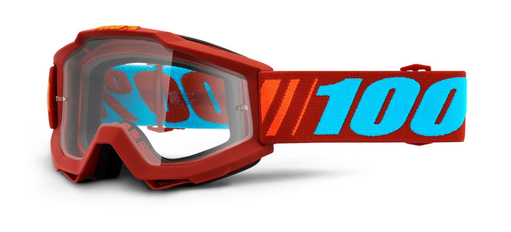 100 Percent Accuri Goggles Dauphine/clear Lens