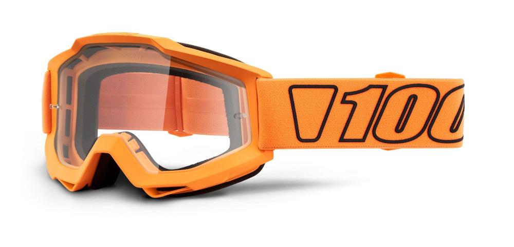 100 Percent Accuri Goggles Gunmetal/red Mirror Lens