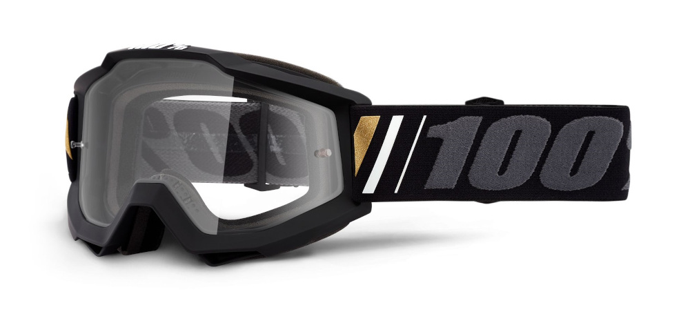 100 Percent Accuri Goggles Off/clear Lens