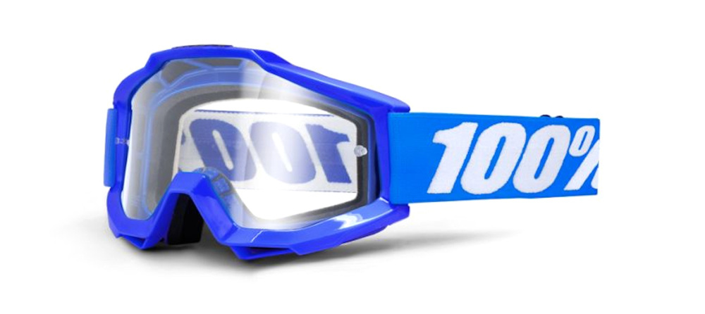 100 Percent Accuri Goggles Reflex Blue/clear Lens