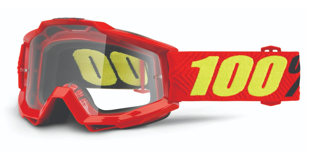 100 Percent Accuri Goggles Saarinen/clear Lens