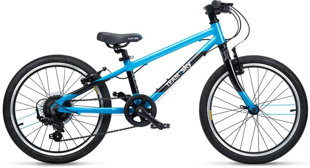 Frog Team Sky 55 Kids Bike 2019 Blue/Black