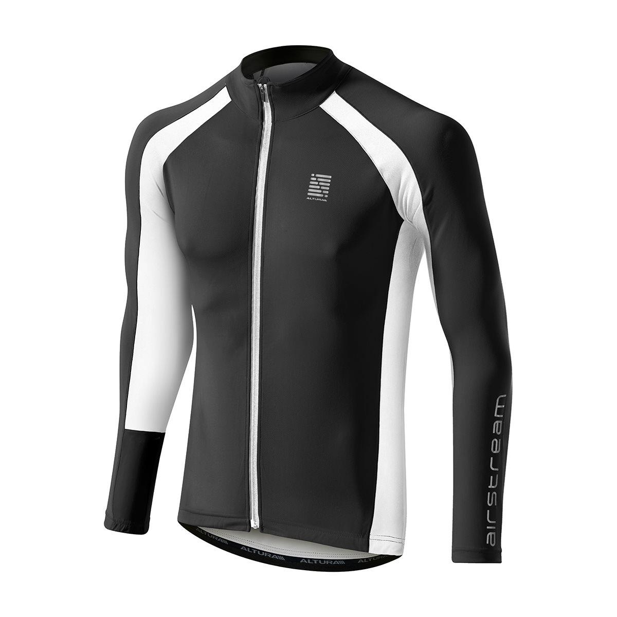 Altura-Airstream-Summer-Long-Sleeve-Cycling-Jersey-Black-White