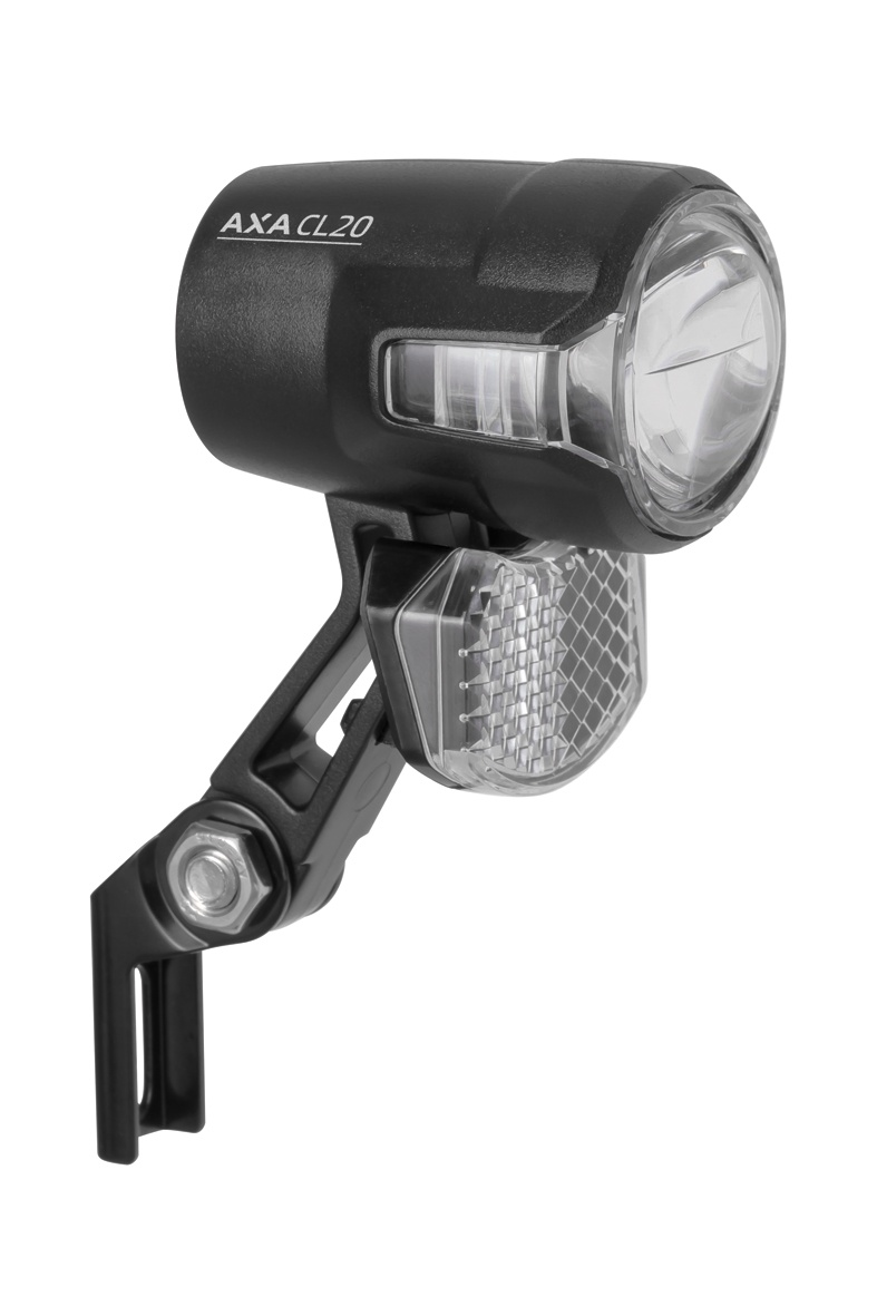 Axa Compactline 35 E-bike Dynamo Front Headlight Black