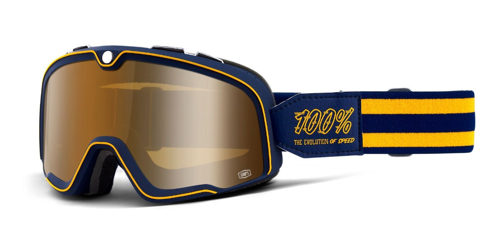 100 Percent Barstow Goggles Noise/silver Mirrored Lens