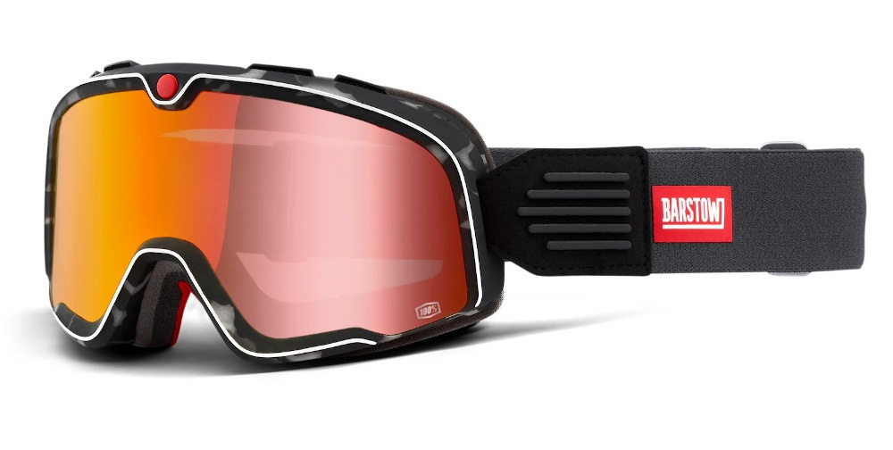 100 Percent Barstow Goggles Gasby/red Mirrored Lens