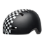 Bell Lil Ripper Toddler Checkers Matte Black/White