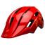 Bell Sidetrack II Youth Helmet Bolts Gloss Red
