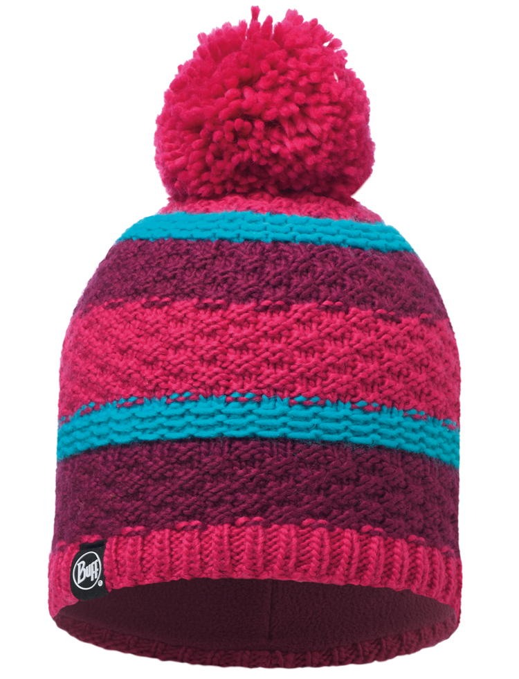 Buffera Knitted Hat Honeysuckle Fiz Pink