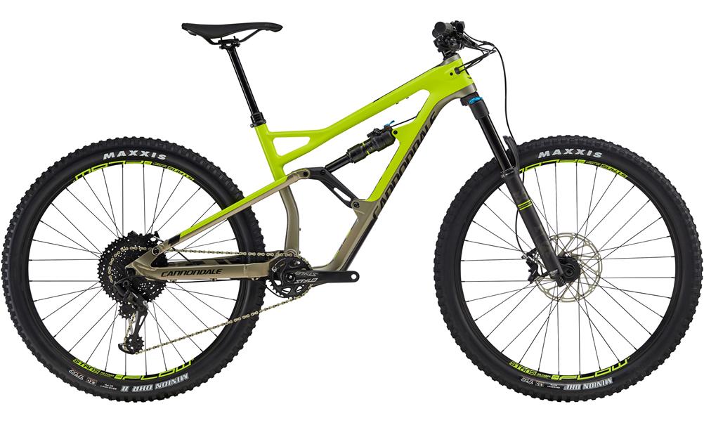 Cannondale Jekyll 3 Carbon/Alloy 29er Mountain Bike 2019 Volt Green