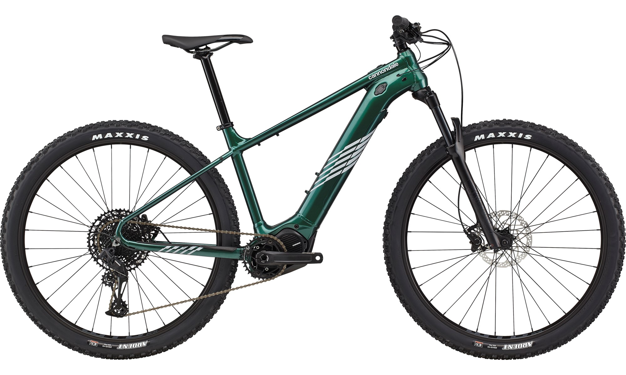 Cannondale Trail Neo S 1 Electric Hardtail Mountain Bike 2021 Emerald
