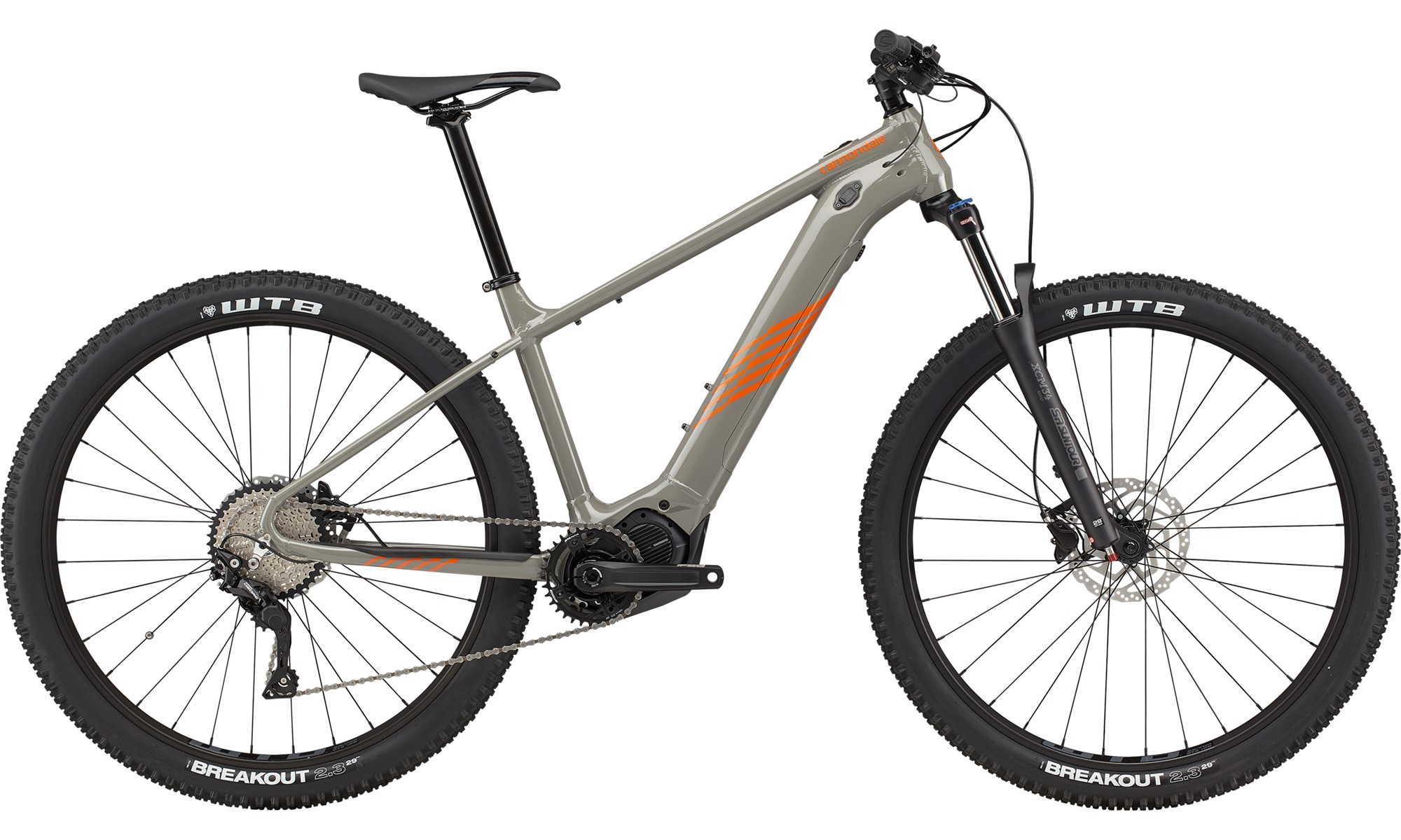 Cannondale Trail Neo S 2 Electric Hard Tail Mountain Bike 2021 Grey