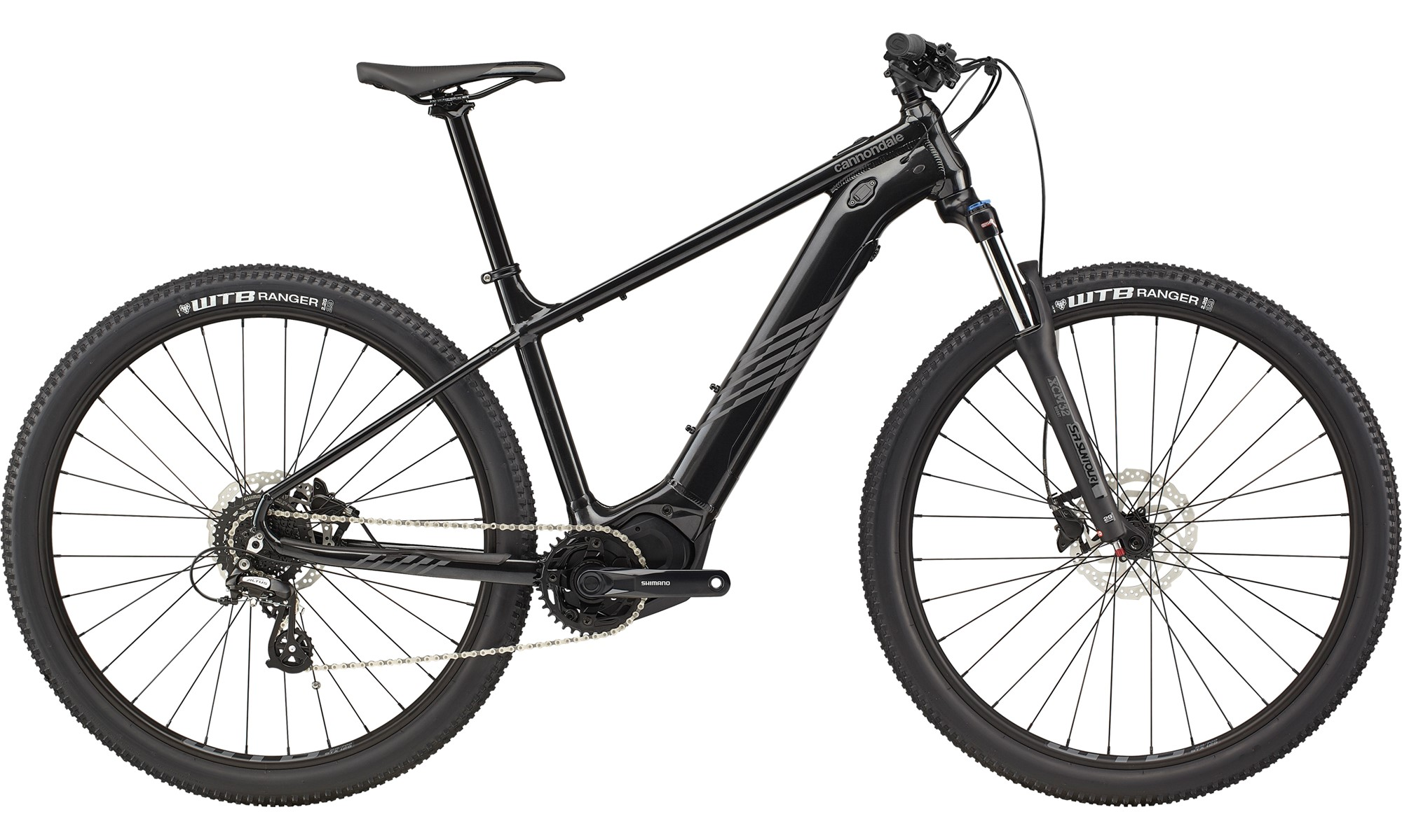 Cannondale Trail Neo S 3 Electric Hard Tail Mountain Bike 2021 Black