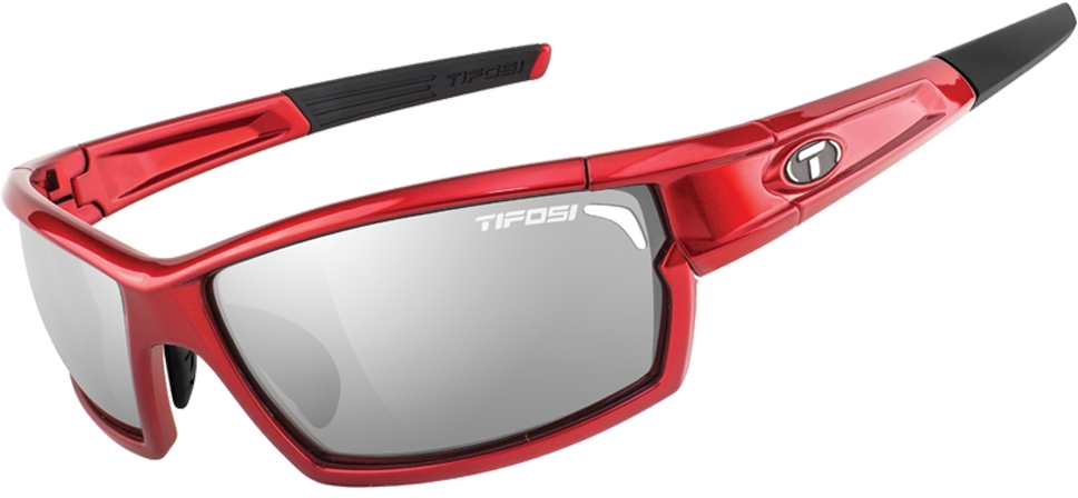 Tifosi Camrock Full Frame Sunglasses With Interchangeable Lens Red