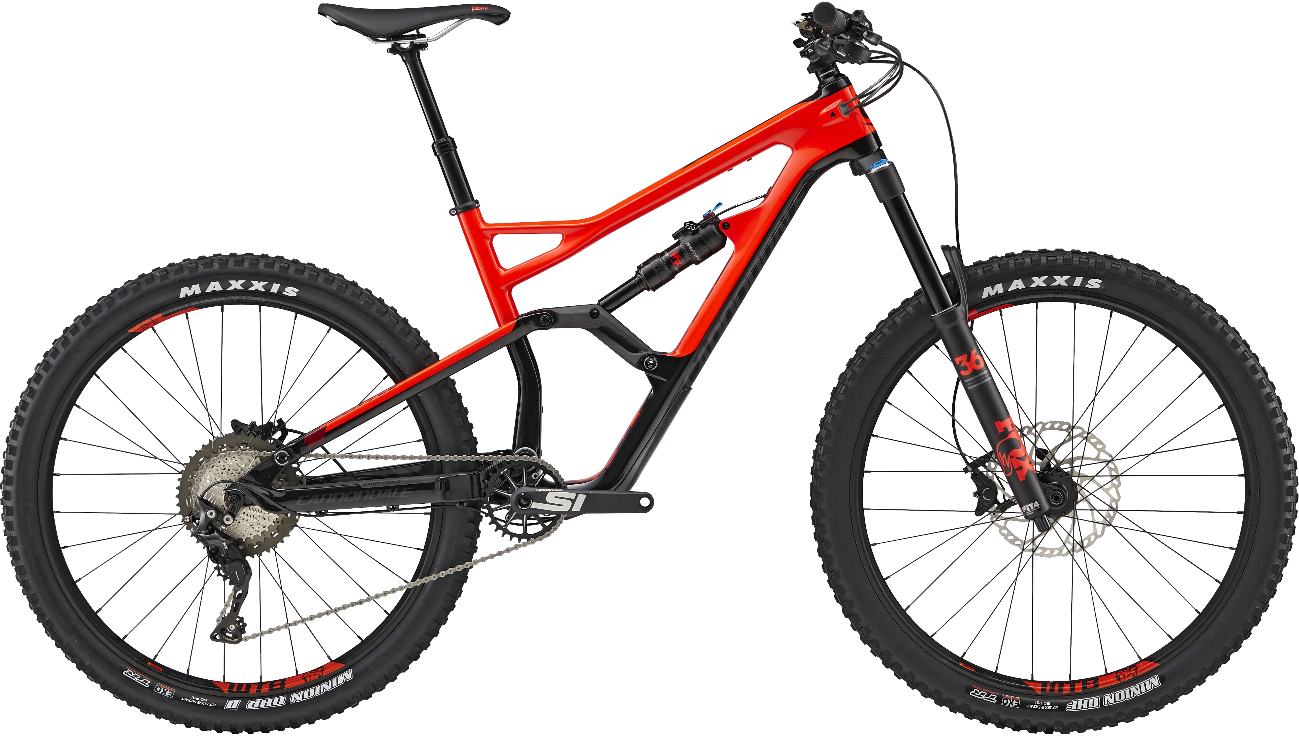 Cannondale Jekyll 3 27.5 Mountain Bike 2019 Red/Black