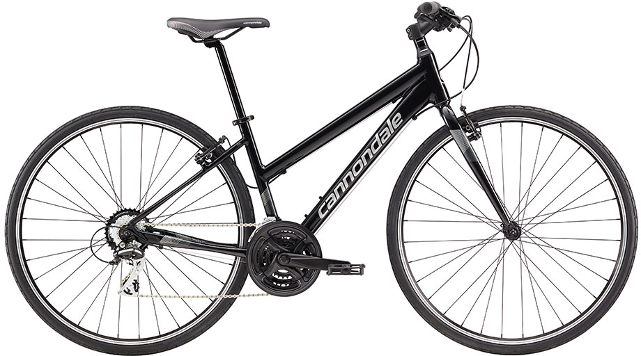 Hybrid and City Bike Deal  Cannondale Quick 8 Womens Hybrid Bike 2018 Black