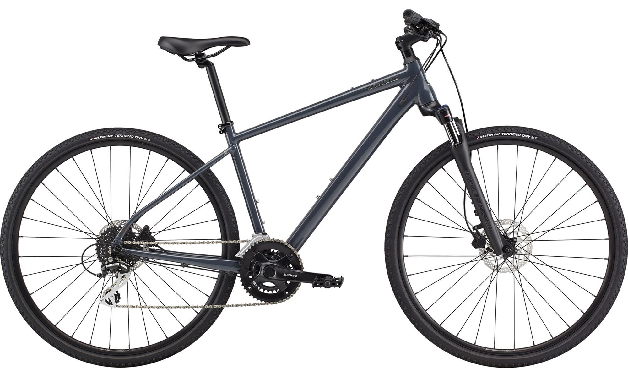 Cannondale Quick CX 3 Hybrid Bike 2021 Slate Grey