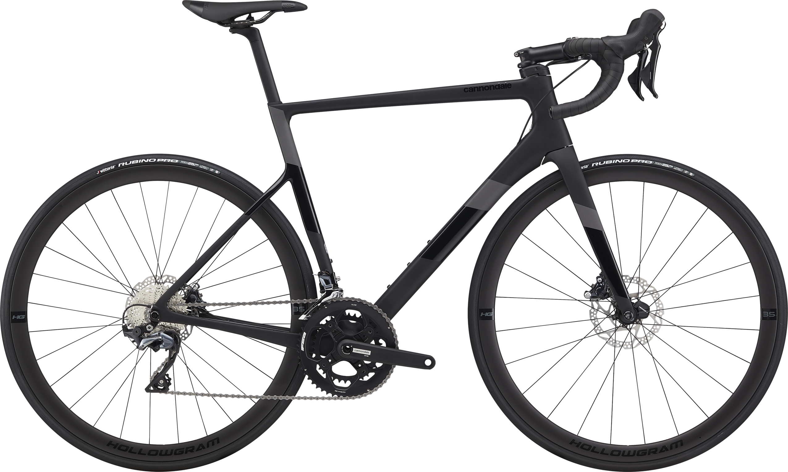 Cannondale Super Six EVO Carbon Disc Ultegra 2020 black