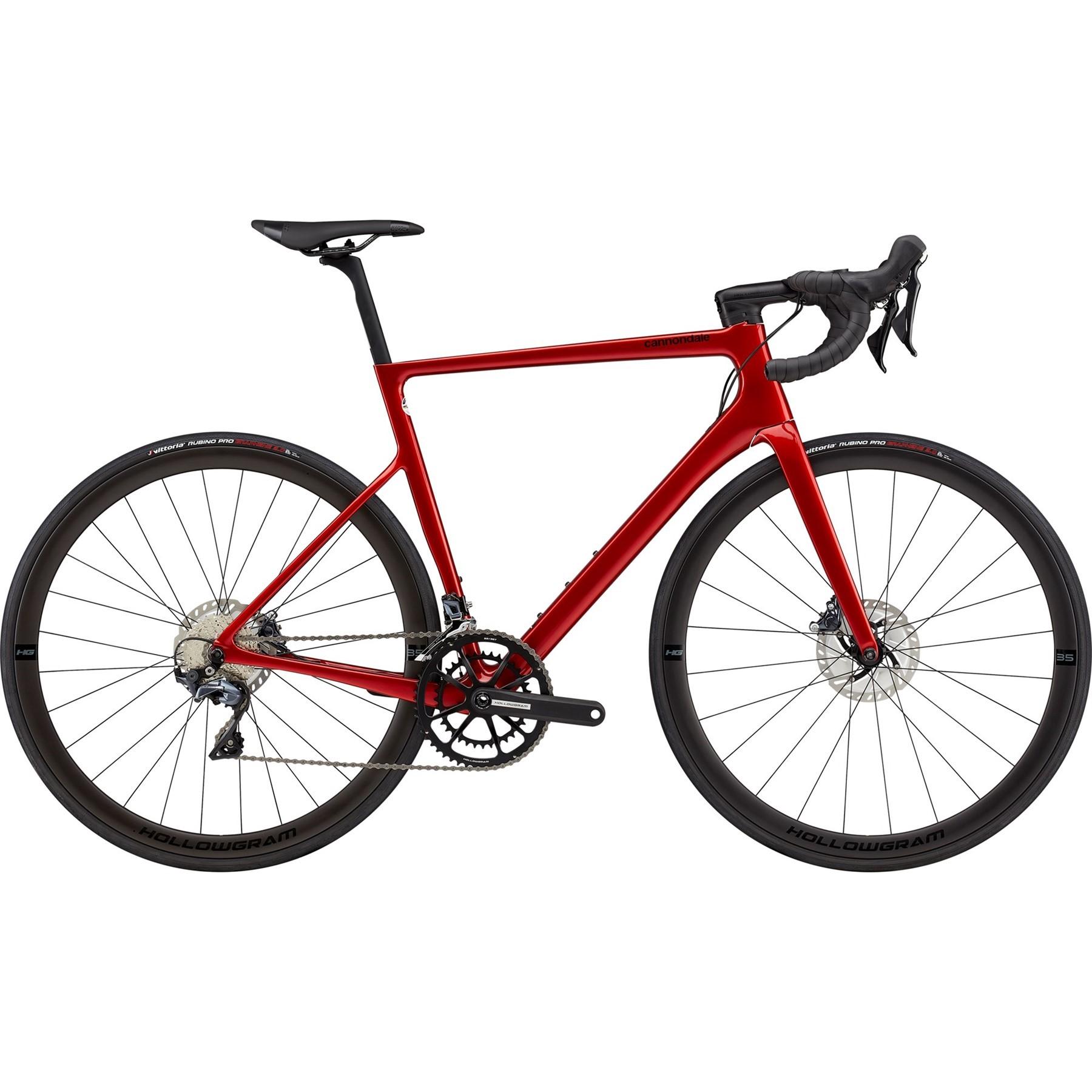 Cannondale SuperSix EVO Hi Mod Ultegra Disc Road Bike 2021 Candy Red