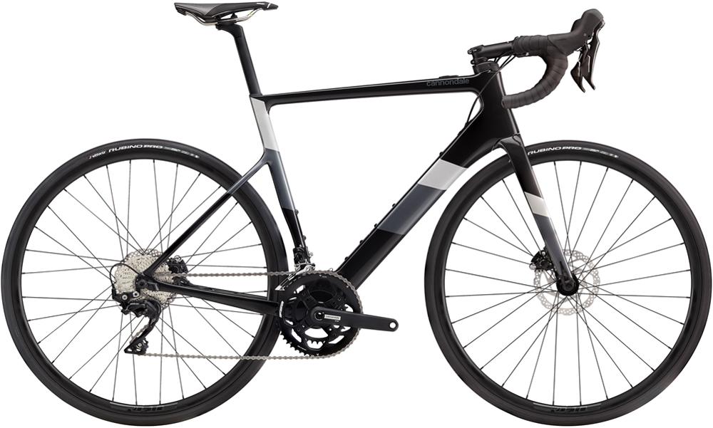 Cannondale SuperSix EVO Neo 3 Electric Road Bike 2020 Black/Pearl
