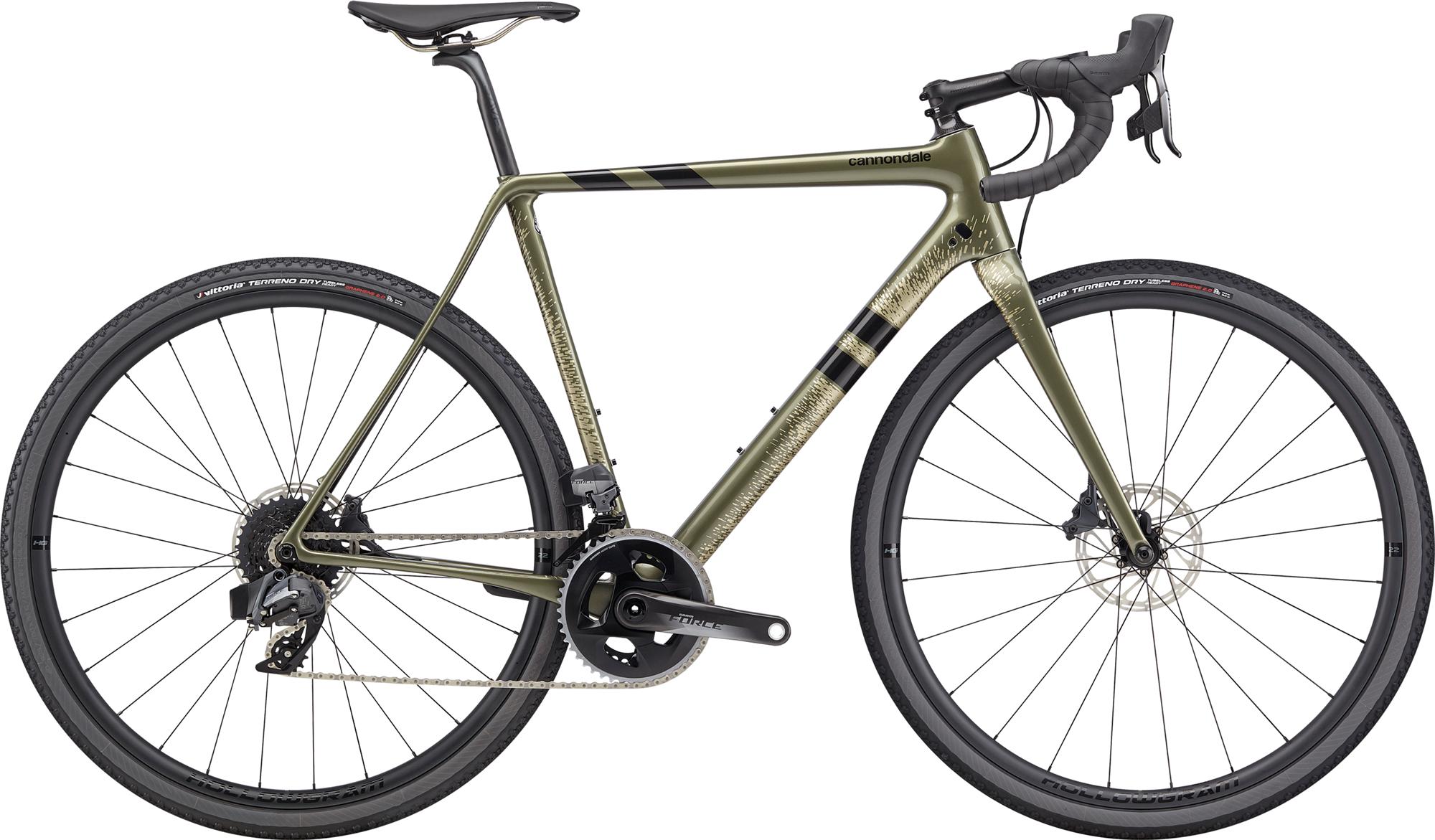 Cannondale SuperX Force eTap AXS Cross Bike 2020 mantis Green