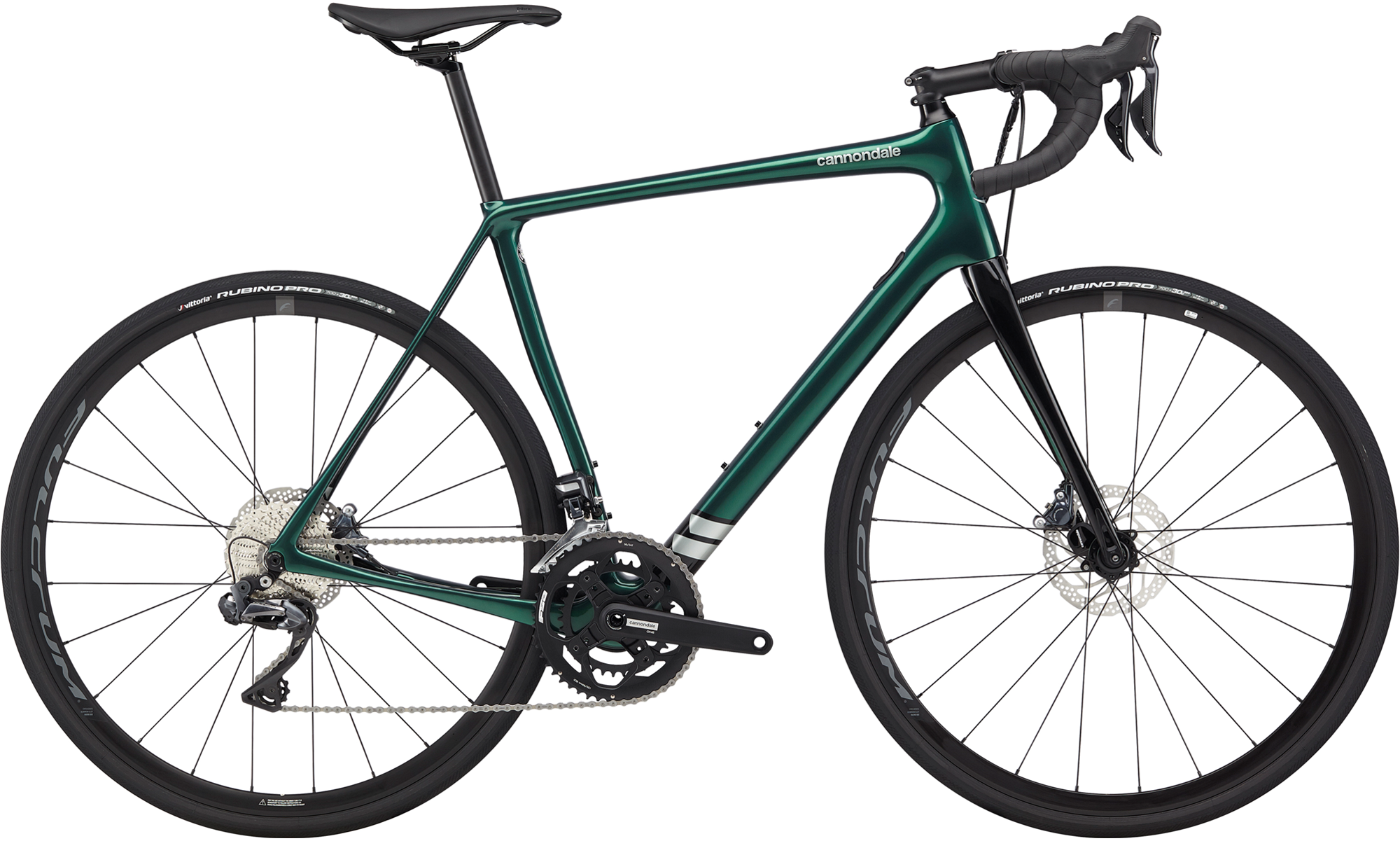 Cannondale Synapse Carbon Ultegra Di2 Endurance Road Bike 2020 Emerald