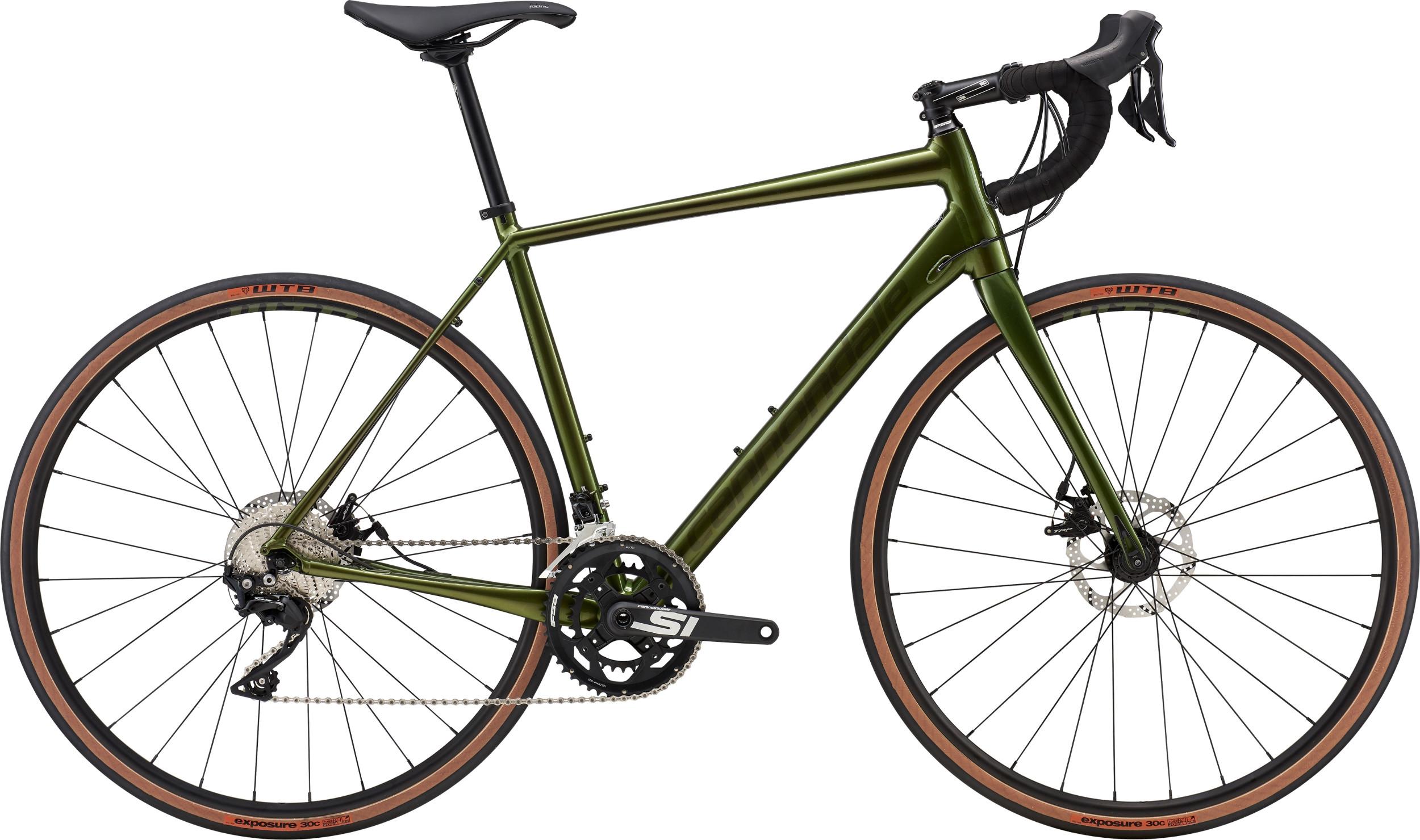Cannondale Synapse Disc 105 SE Road Bike 2019 Vulcan Green
