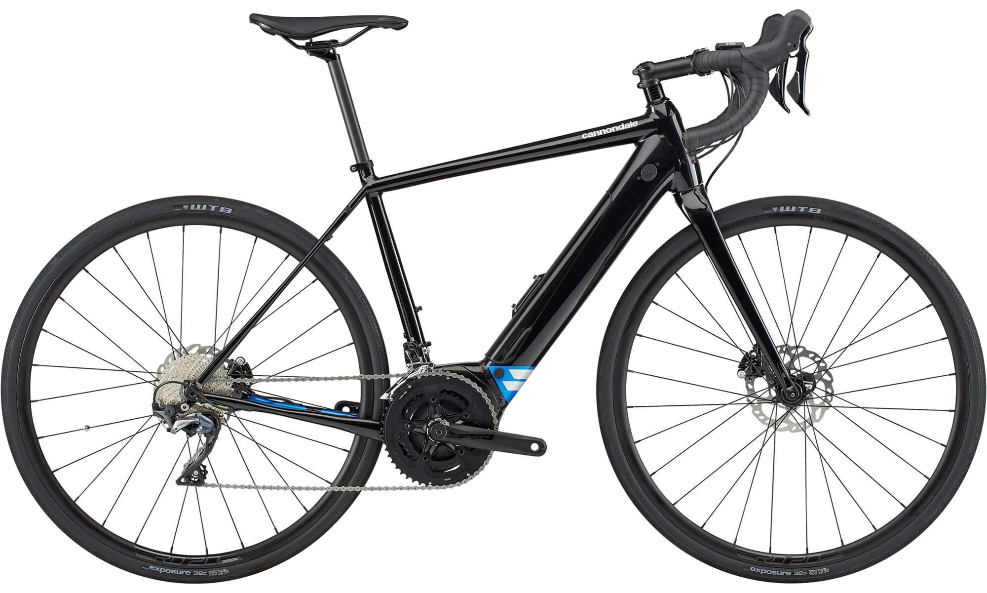 Cannondale Synapse Neo 1 Ultegra Electric Road Bike 2020 Black