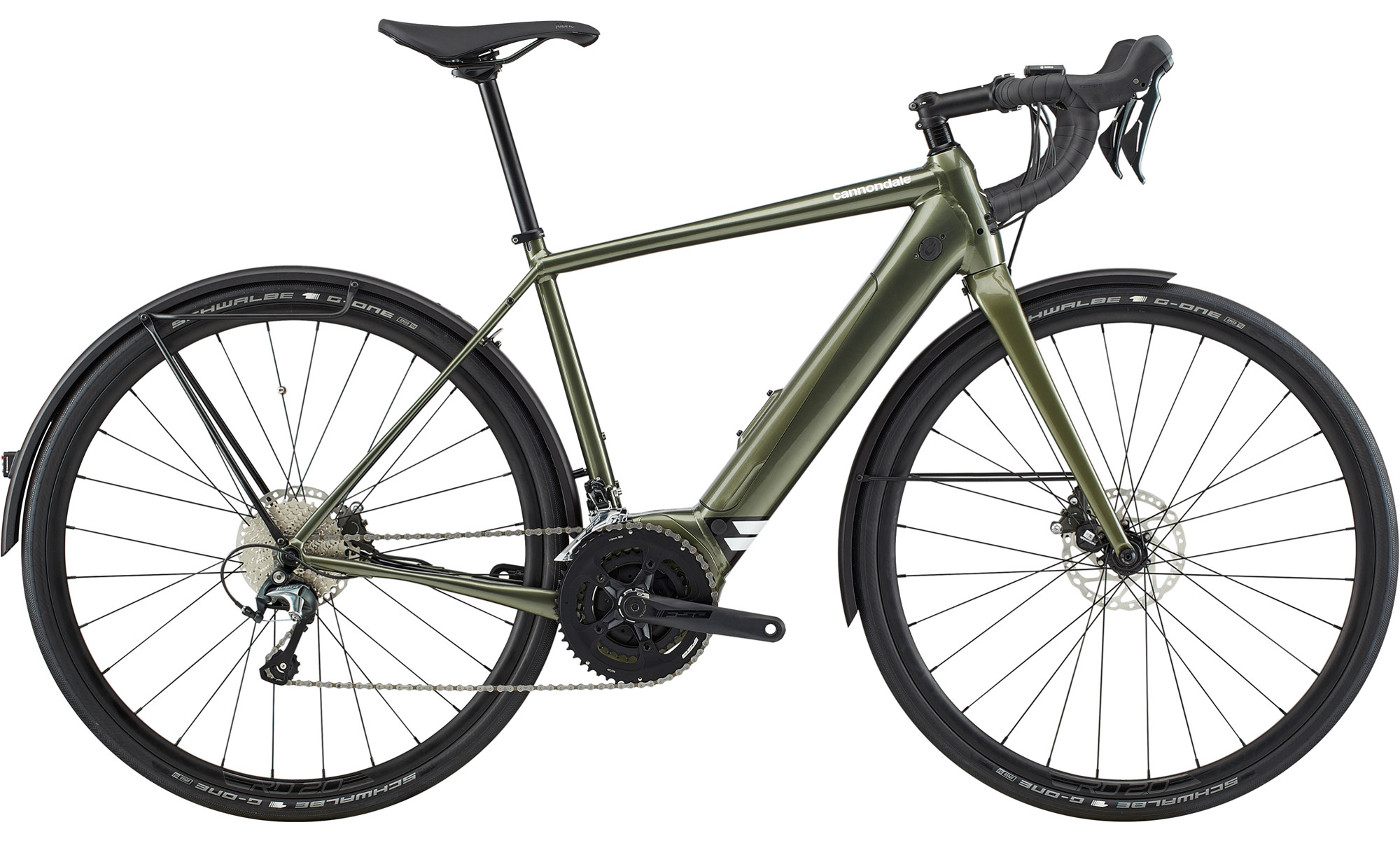 Cannondale Synapse Neo EQ Electric Bike 2020 Mantis Green