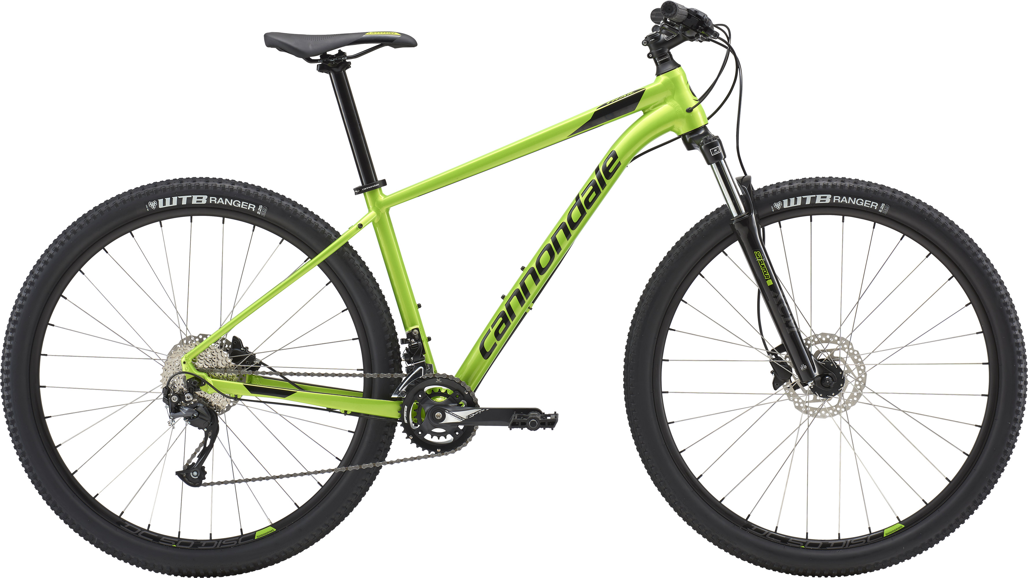 4a6cd146946 Cannondale Trail 7 Hardtail Mountain Bike 2019 Green £424.99