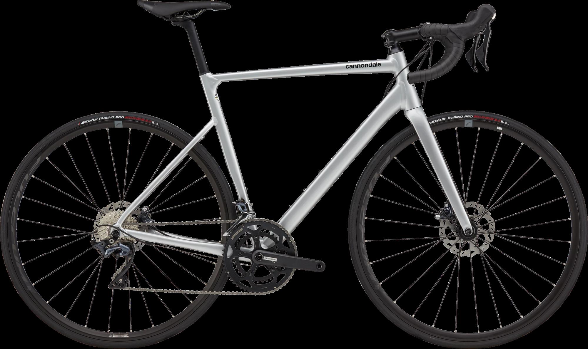 Cannondale CAAD13 Ultegra Disc Road Bike 2021 Mercury Silver