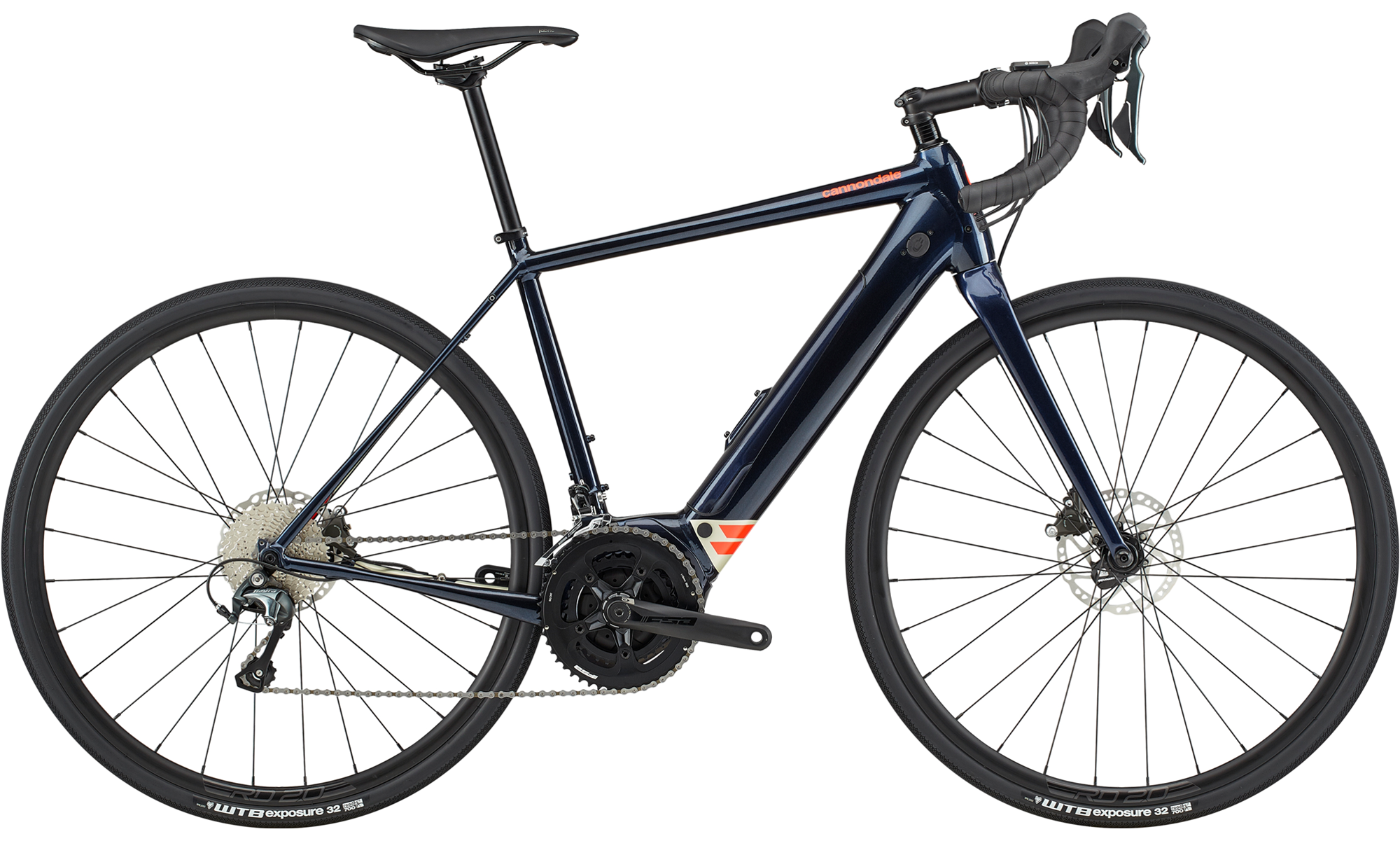 Cannondale Synapse Neo 2 Electric Road Bike 2020 Midnight Blue