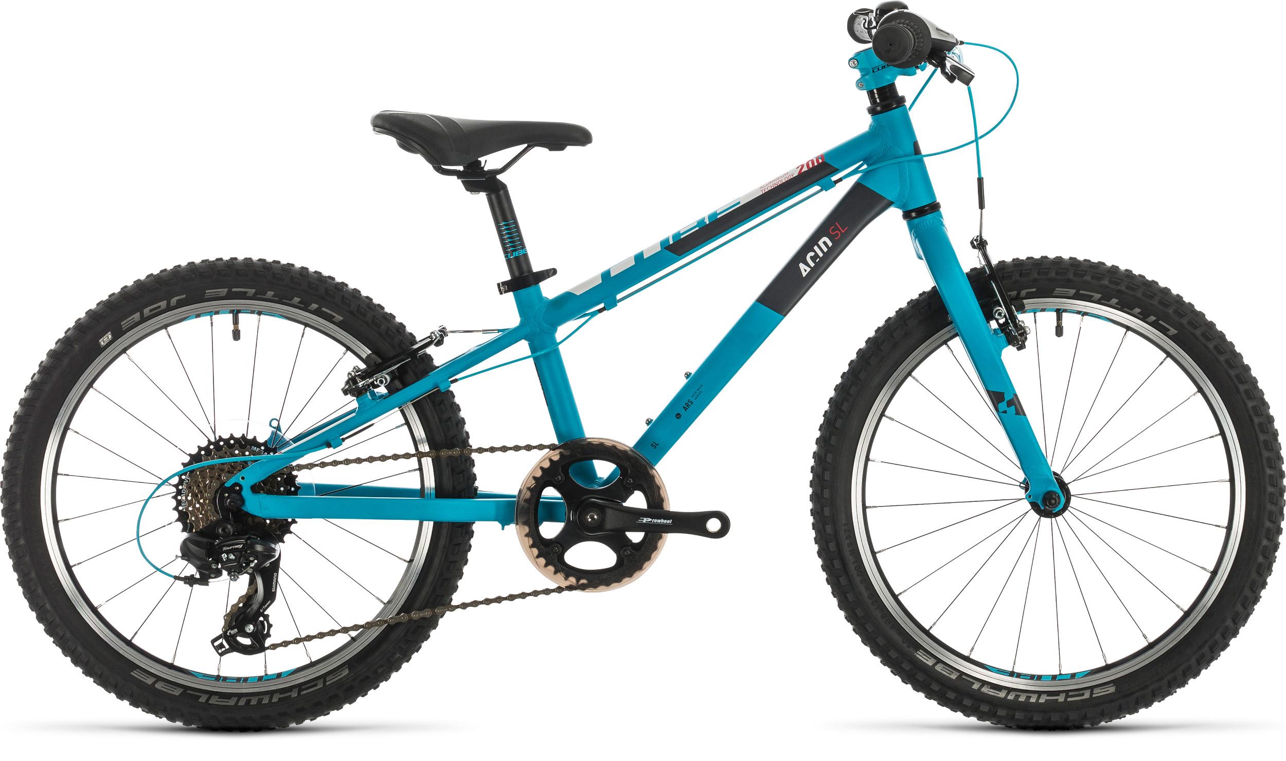 Cube Acid 200 SL 20in Wheel Kids Bike 2020 Turquoise/White