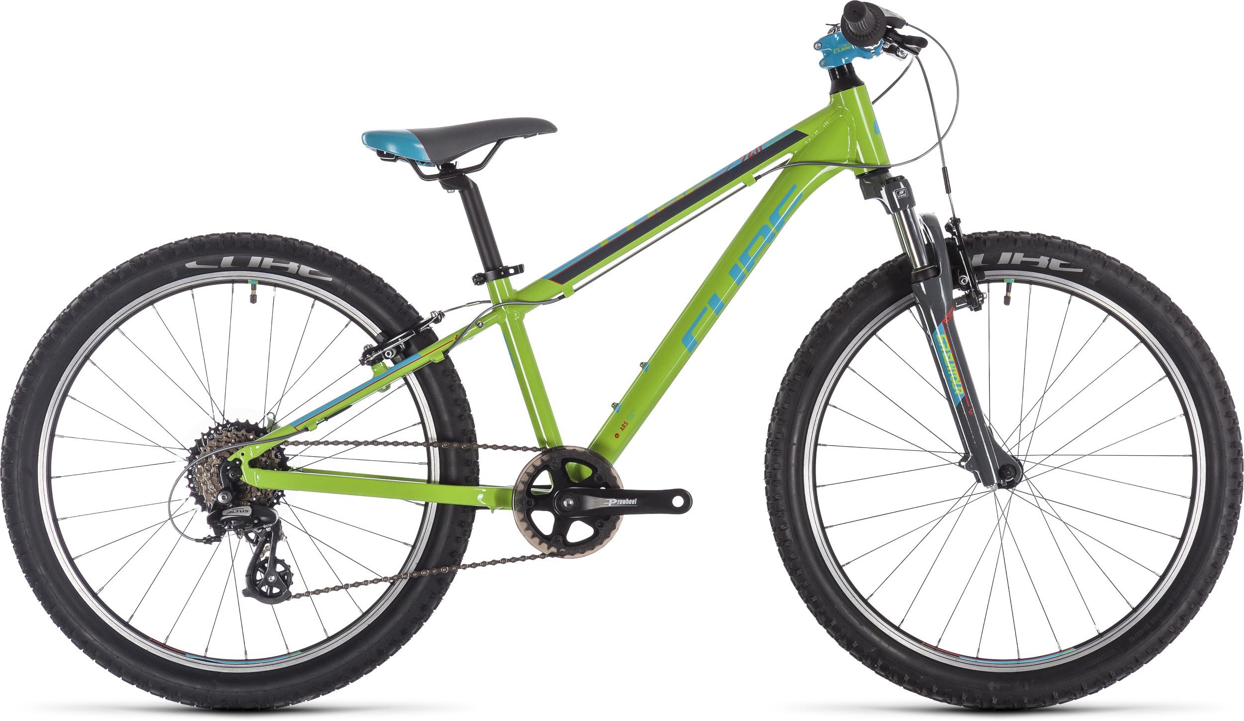 Cube Acid 240 Kids Bike 2019 Green/Blue/Grey