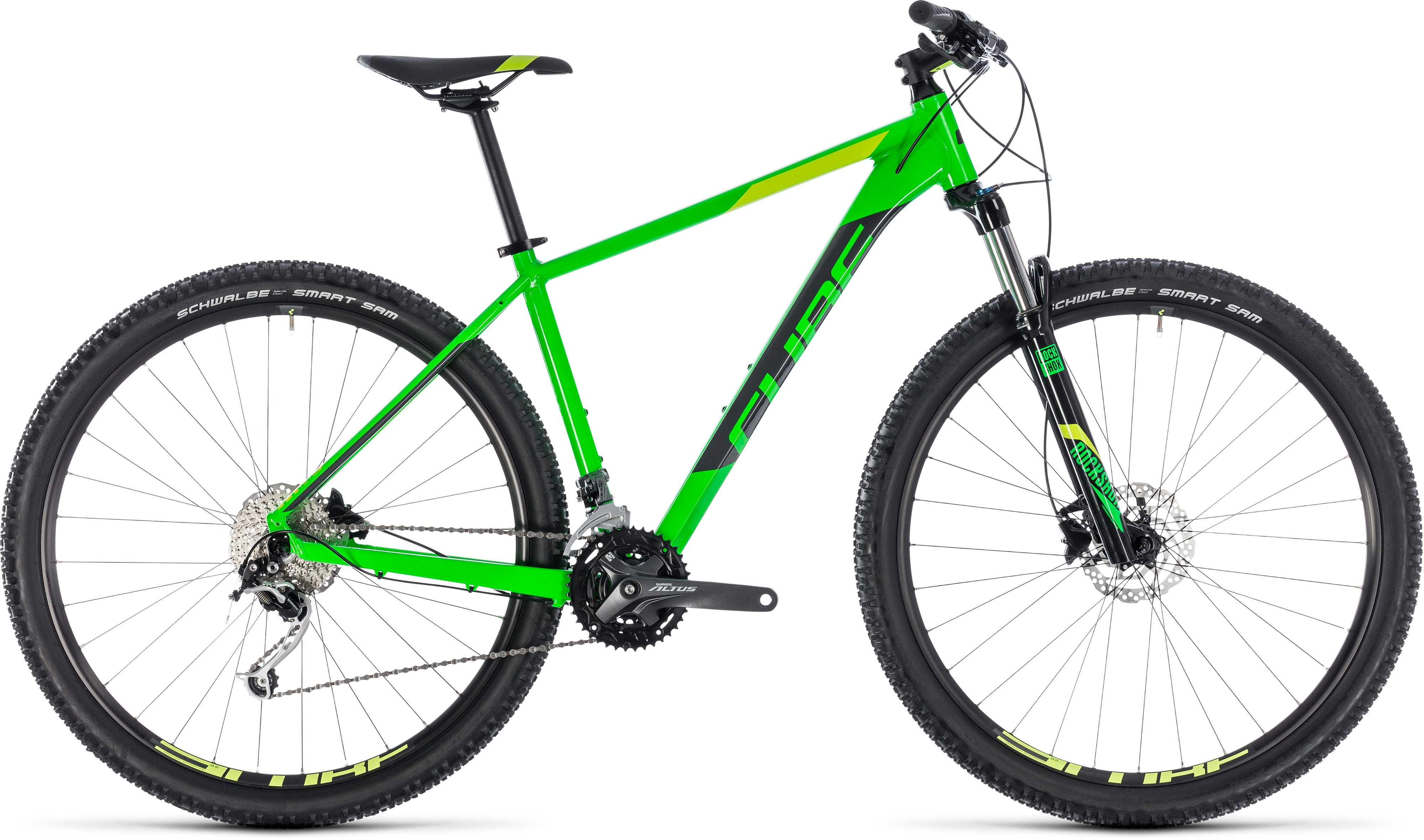 8fc022f9cb2 Cube Analog Hardtail Mountain Bike 2018 Green/Grey £499.99