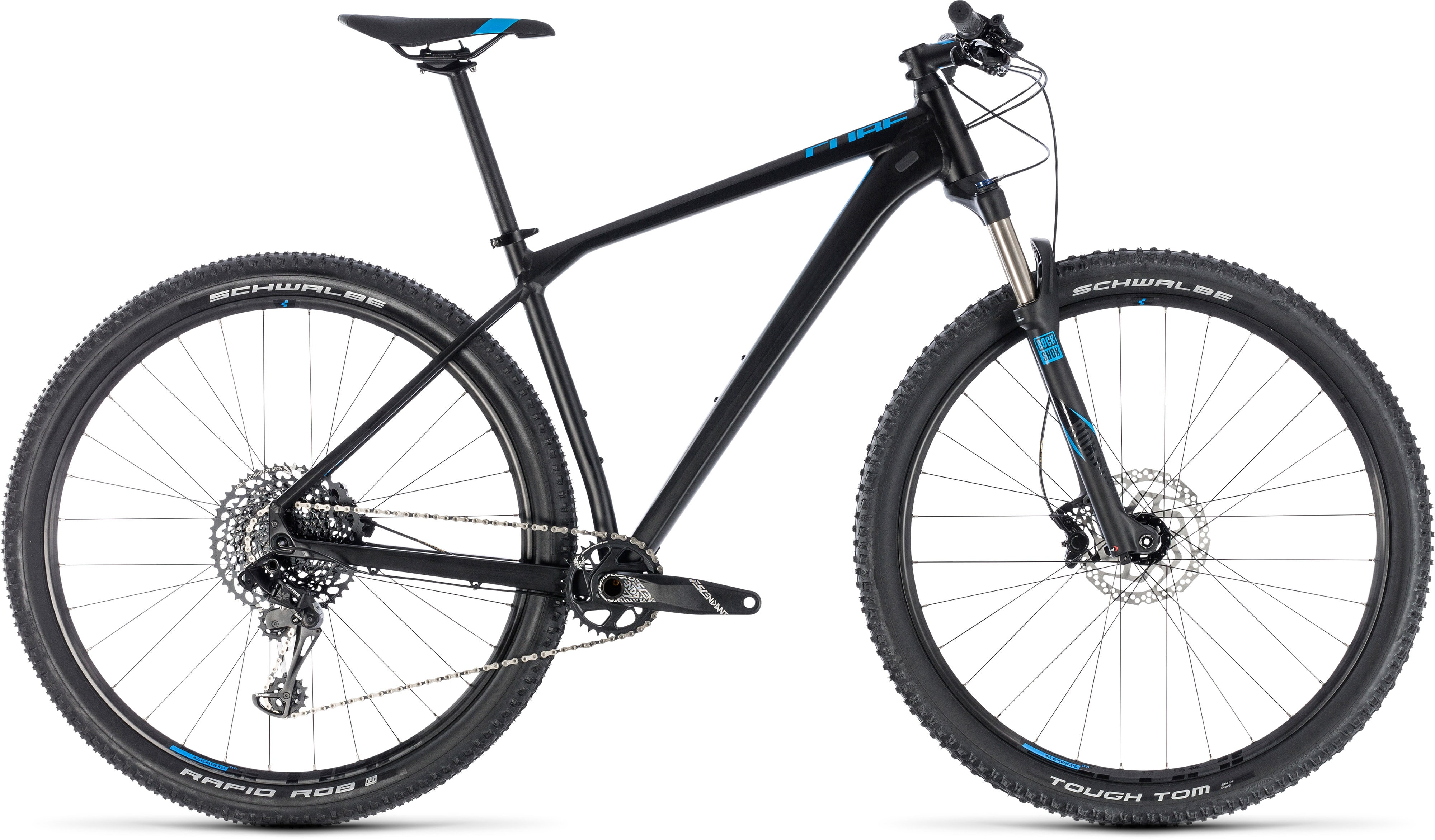 9489601457e Cube Reaction Race Hardtail Mountain Bike 2018 Black/Blue £1,099.99