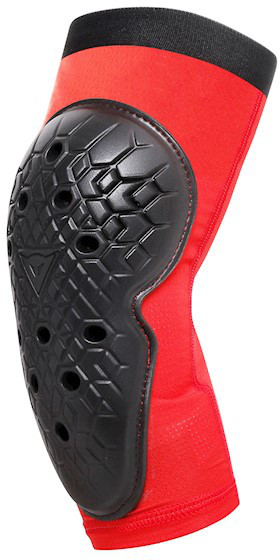 Dainese Scarabeo Junior Elbow Guard Black/red