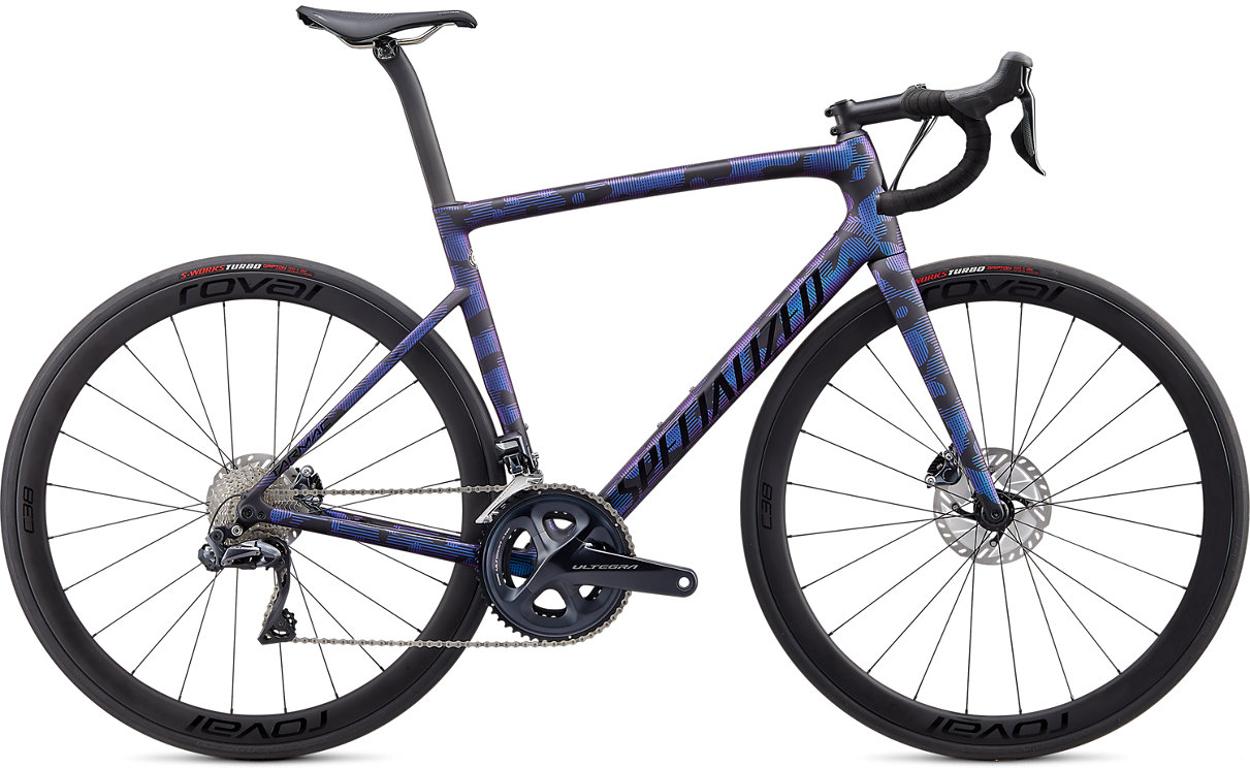 Specialized Tarmac SL6 Expert Di2 Disc Road Bike 2020 Black/Chameleon