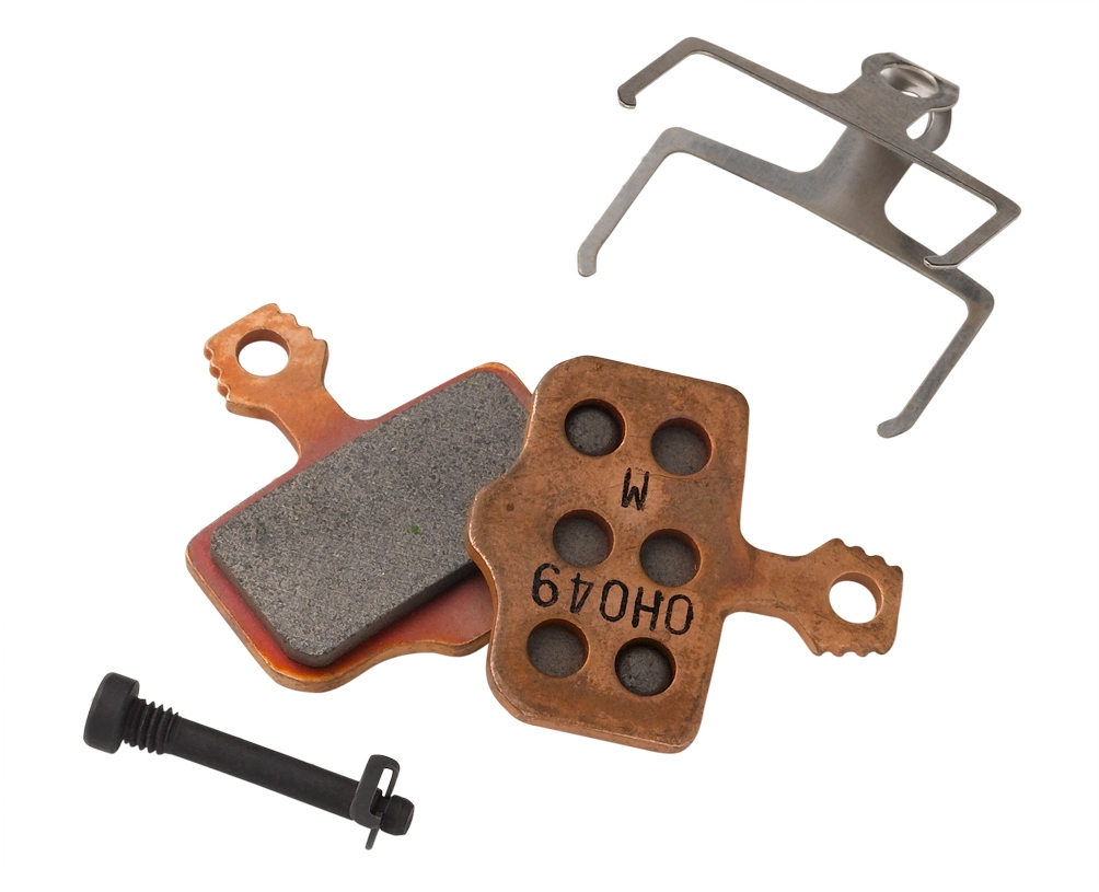 Avid Elixir Sintered Disc Brake Pads With Compound Steel Backplate