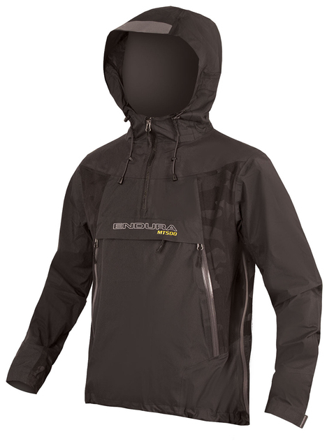 Endura MT500 Waterproof Pullover Jacket Black £180.49