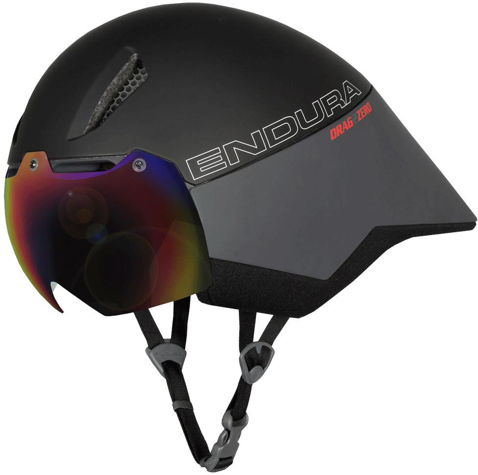 Endura D2Z Aeroswitch Road Helmet Black