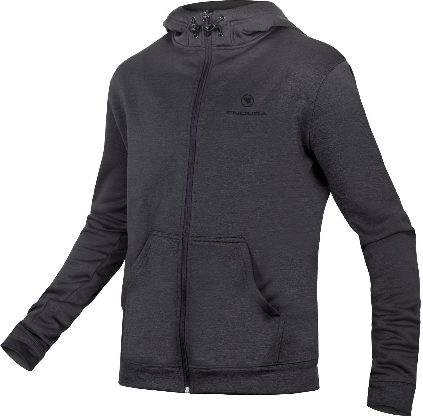 Endura Hummvee Essential Full Zip Hoodie Anthracite