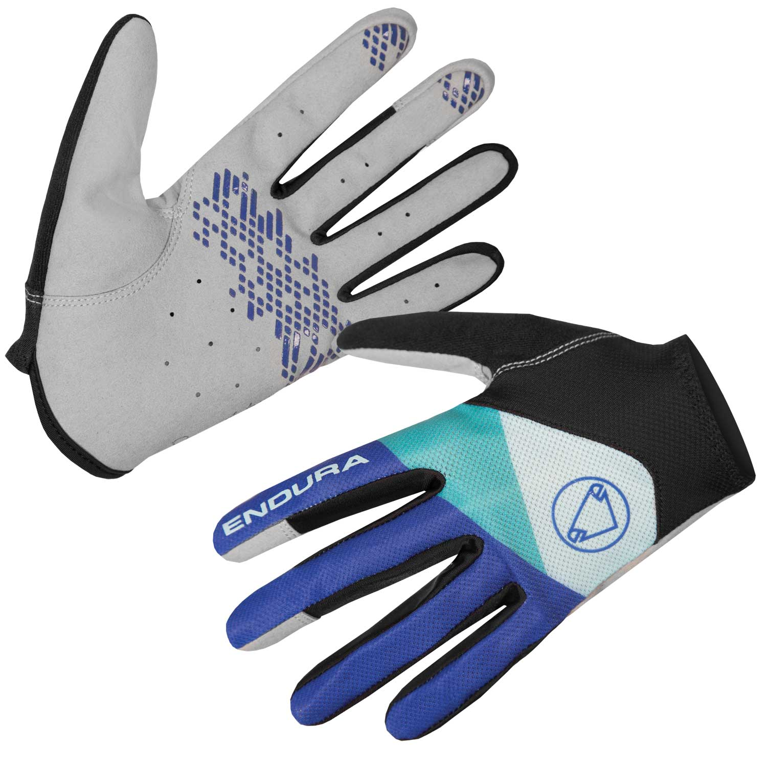Endura Hummvee Lite Womens Gloves II Cobalt Blue