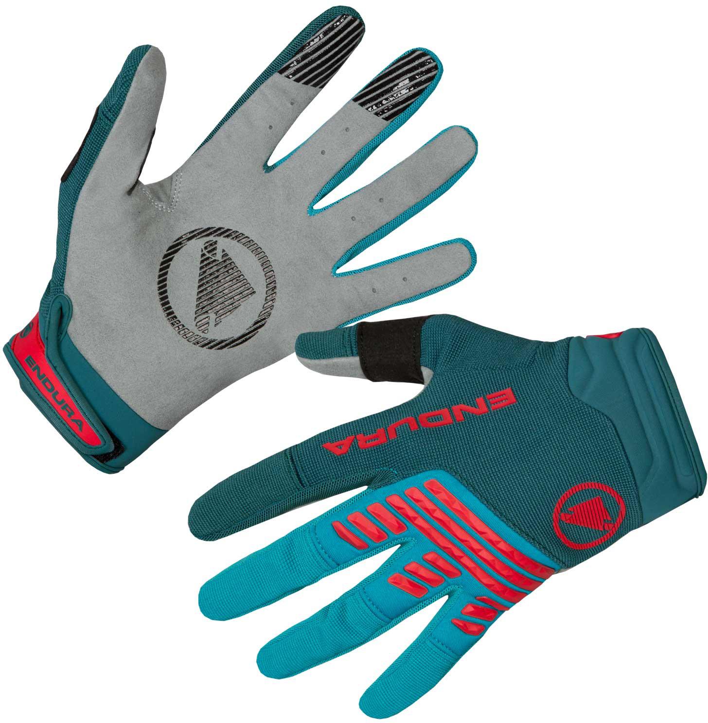 Endura SingleTrack Windproof Gloves Navy   bike glove