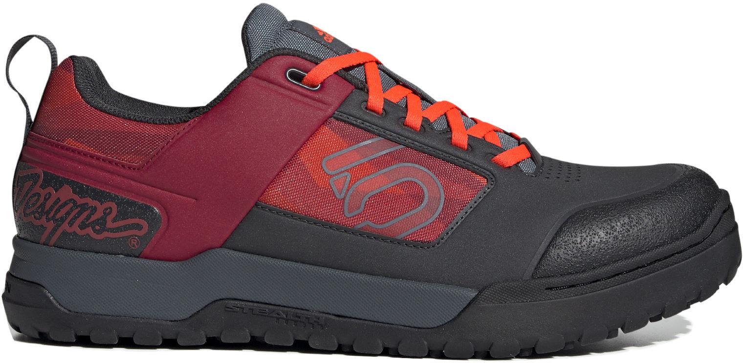 Five Ten MTB-Schuhe District Clips Clipless Core Black//Core Black//Gold Met.