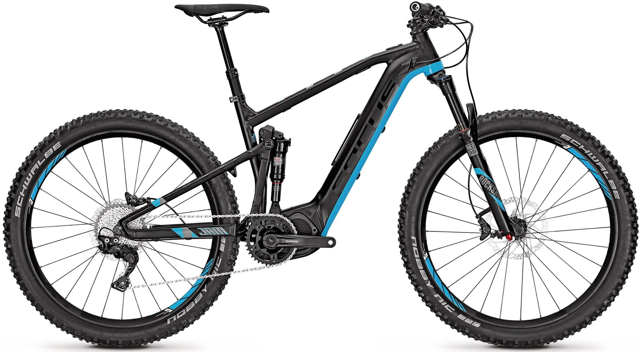 df4fe2e18d3 Focus Jam2 Plus Electric Bike 2017 Black/Blue £2,999.99