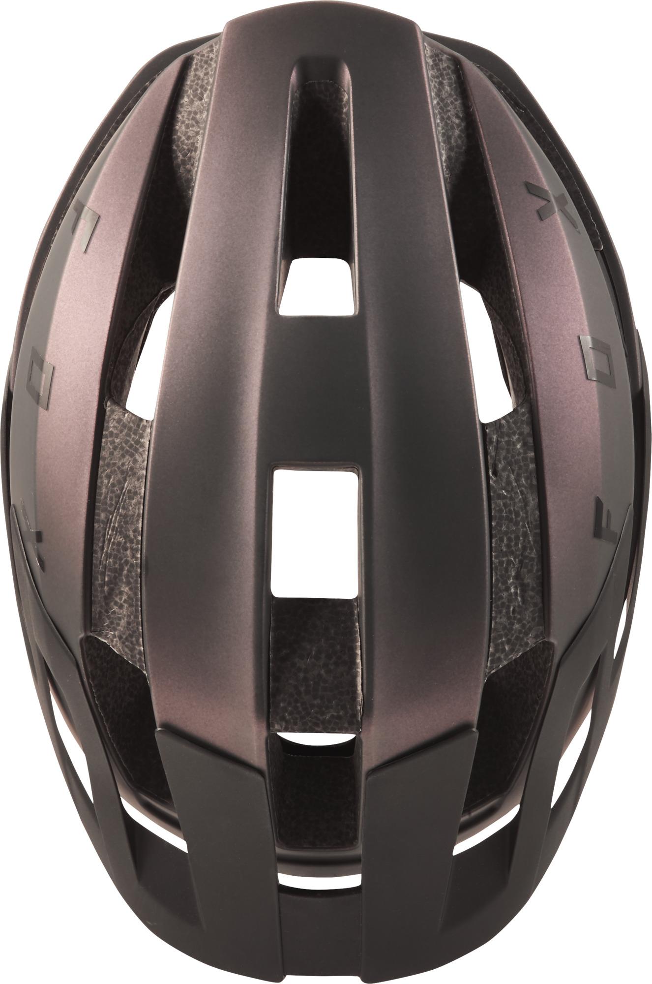 Fox Trail-MTB Helm Flux Solid Black Iridium