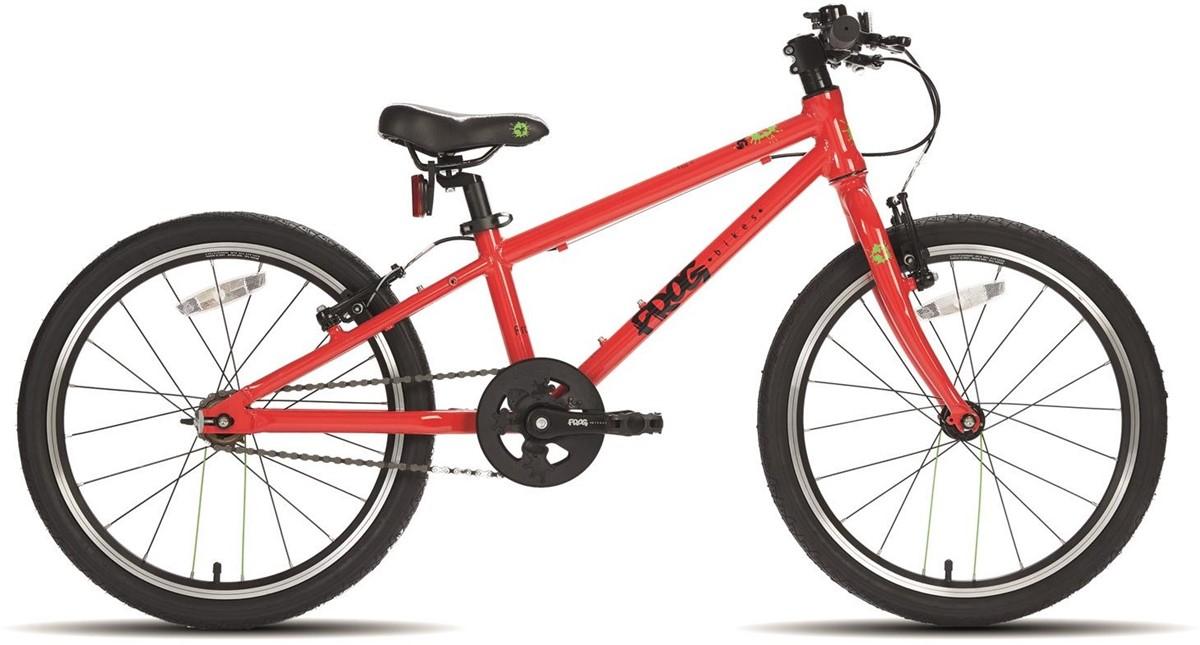 Frog 52 Single Speed Kids Bike 2019 Red